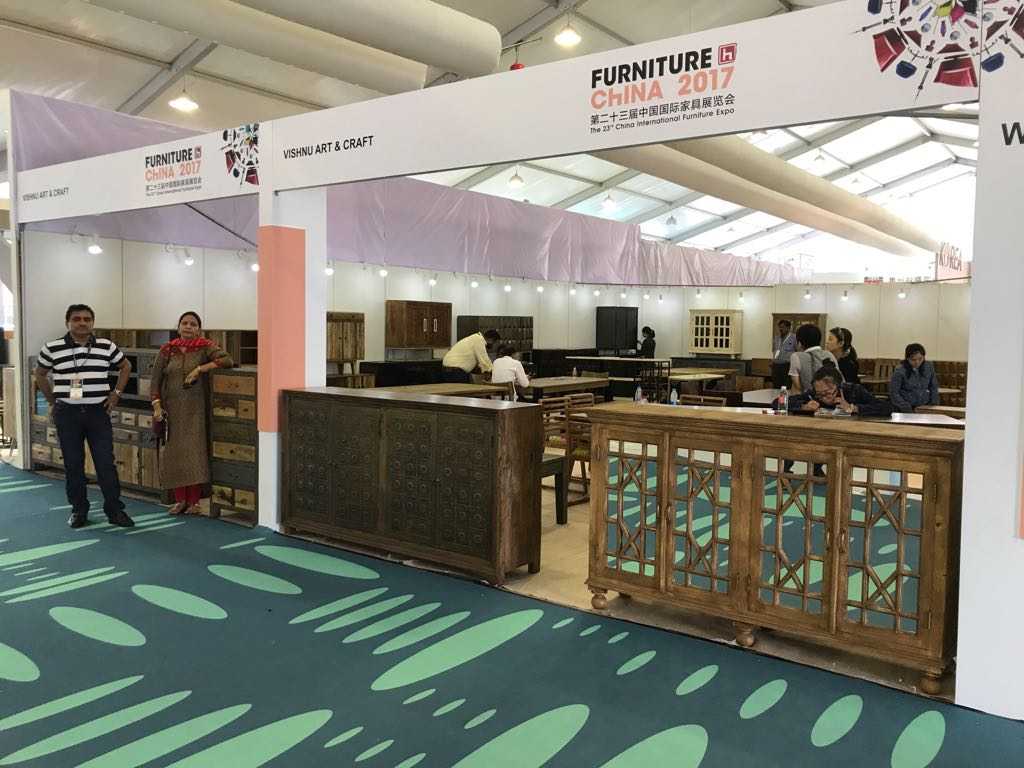 VISHNU ART & CRAFT PARTICIPATED IN THE 23TH CHINA INTERNATIONAL FURNITURE EXPO | PUDONG, SHANGHAI
